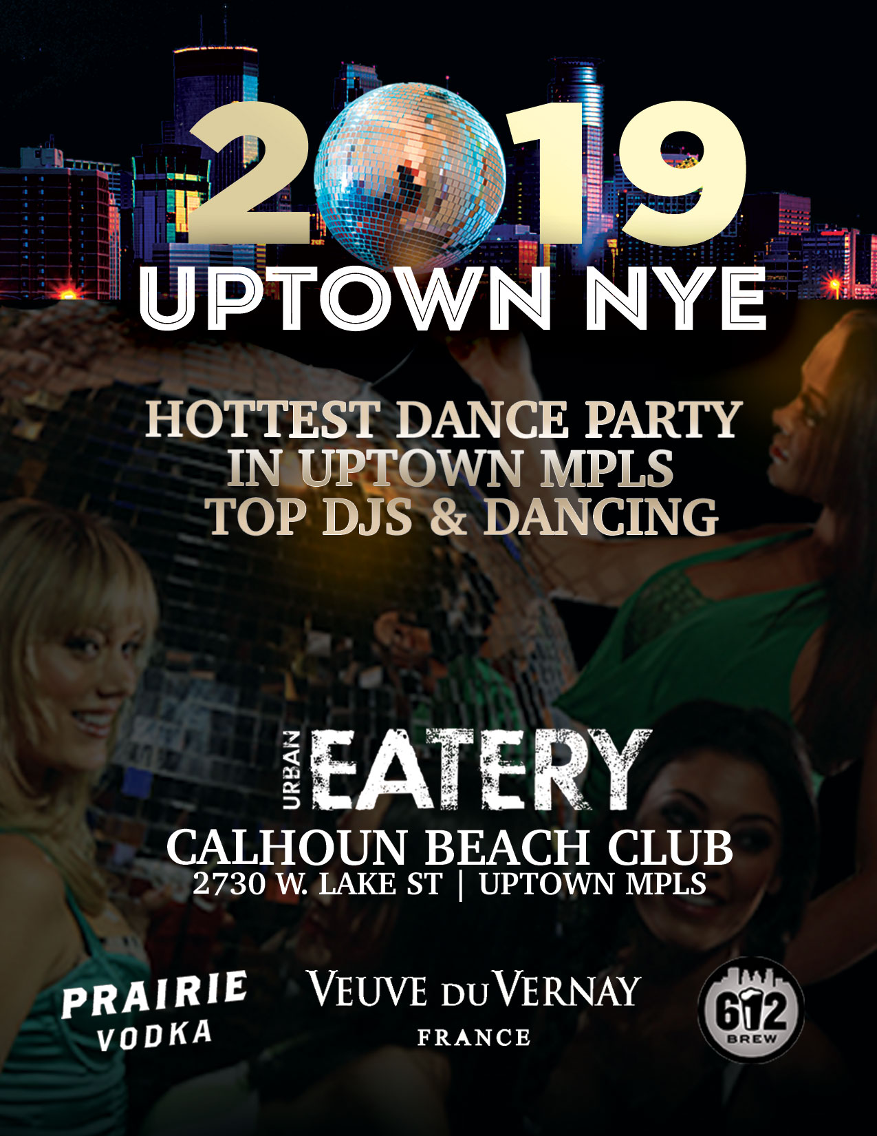 Top NYE 2019 Twin Cities Event